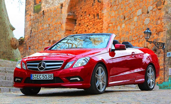 2011 mercedes benz e class cabriolet 597x364 For the ladies: New E Class Cabriolet pricing announced