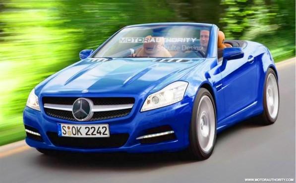 Mercedes Benz Sls Amg Stealth Model Car. 2011 mercedes benz slk preview