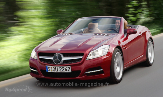 2012 mercedes slk illustration New 2012 Mercedes Benz SLK Illustration