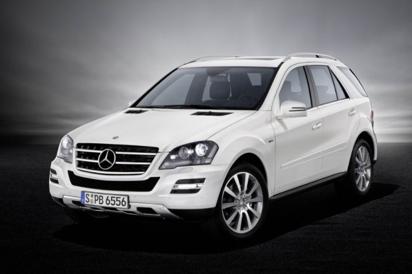 M class grand edition 597x398 2010 Mercedes Benz M and R Class Grand Edition