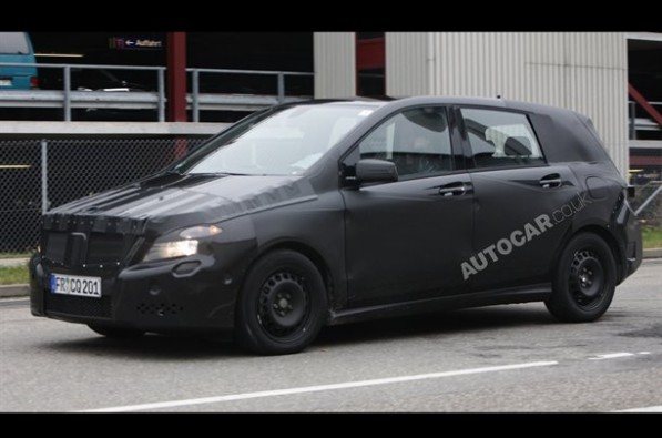 Mercedes Benz 121099550498191600x1060 597x395 Spy Photo: The New Mercedes Benz B Class