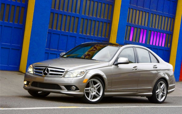 Mercedes Benz C Class widescreen 09 597x373 Land Down Under to enjoy added value in 2010 Mercedes Benz C Class