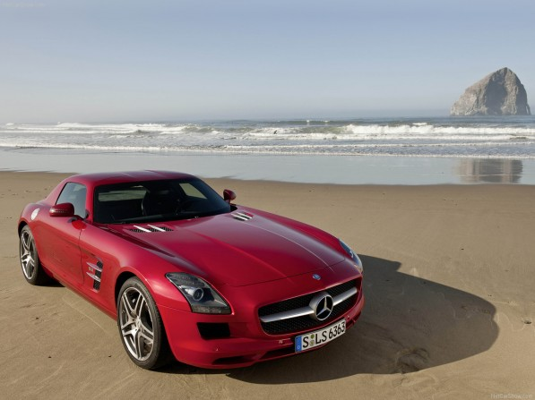 Mercedes Benz SLS AMG 2011 1280x960 wallpaper 15 597x447 Mercedes Benz SLS AMG Bags the Sportiest Car of 2010 Award