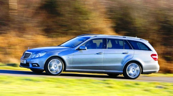 MercedesE classEstate2 597x331 E200 CGI Estate gets high marks in Auto Trader review