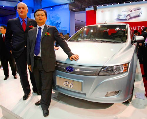 byd wang chuanfu Daimler AG inks contract with Chinas BYD