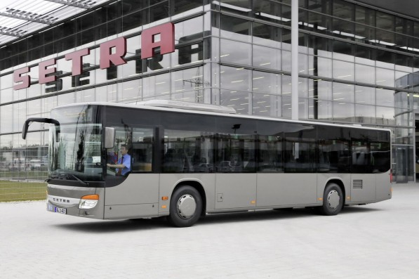 evobus mercedes benz setra 597x397 EvoBus Ibérica reaches new milestone   10,000th chassis