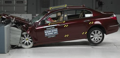 hyundaigenesisx large Mercedes Benz E Class earns this years Top Safety Award