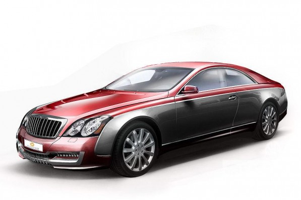 maybach coupe coming 20670 1 597x398 Maybach to launch Limited Edition 57S Coupe