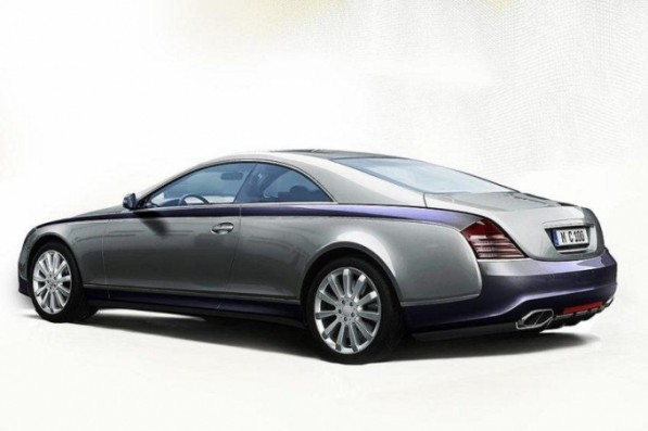 maybach coupe 2