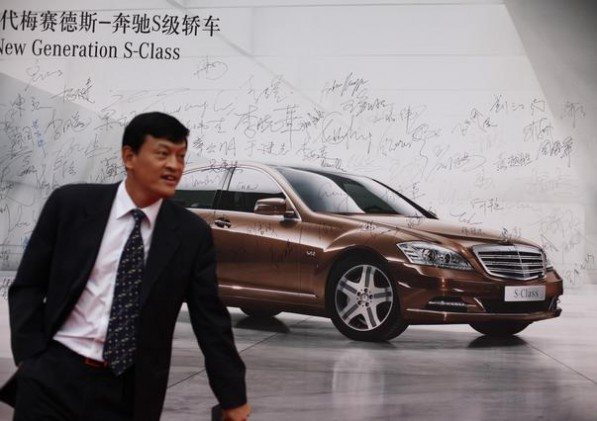 mb china 597x421 Mercedes Benz Cars expects Great Sales Data for Second Quarter of 2010