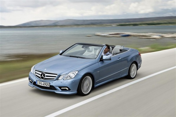 the new mercedes benz e class cabriolet34 597x397 Mercedes to offer Driving Experience to UK Journalist
