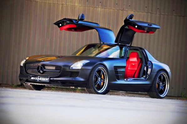 101 597x397 The KICHERER Mercedes Benz SLS Supersport Edition Black