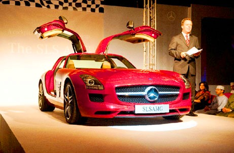 99864 H Launching party of SLS AMG in Oman