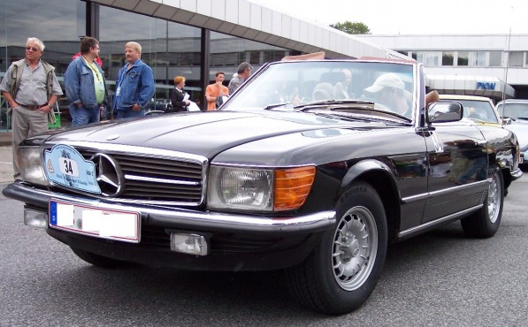 Mercedes Benz 450 SL brown vl21 597x370 Proven Exclusivity Program hits India