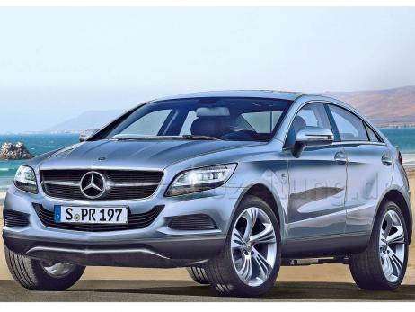 Mercedes GLC 001 Insider tip: GLC crossover in the works?