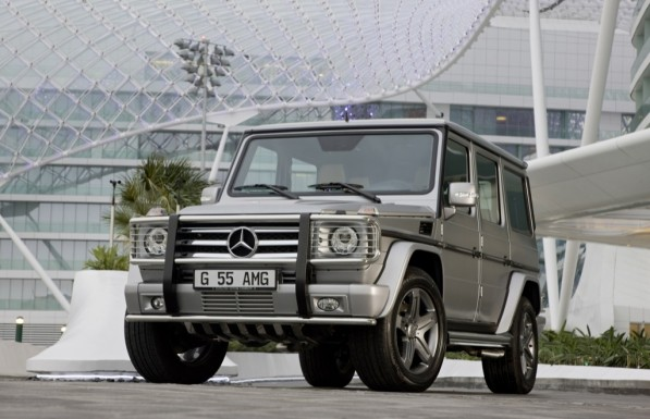 mercedes benz g 55 597x385 G Class to Receive Minor Facelift ahead of Paris Motor Show