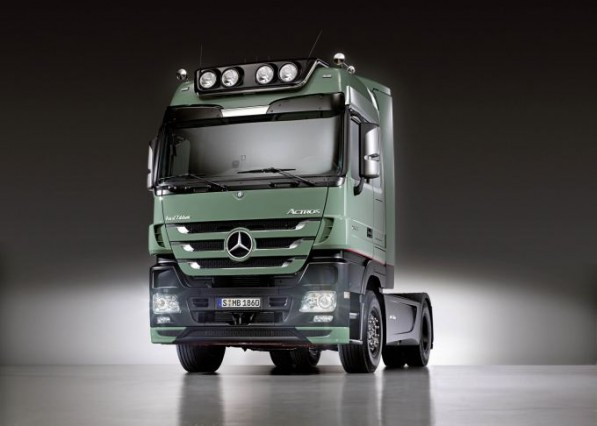 mercedes benz actros truck brazil 597x426 Mercedes Benz Actros to be produced in Brazil from 2011