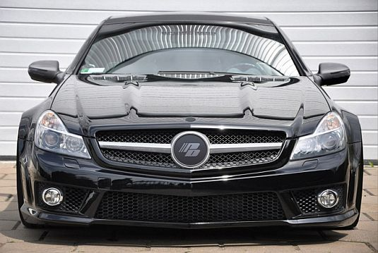 sl3 Prior Design Gives Mercedes SL R230 New Look