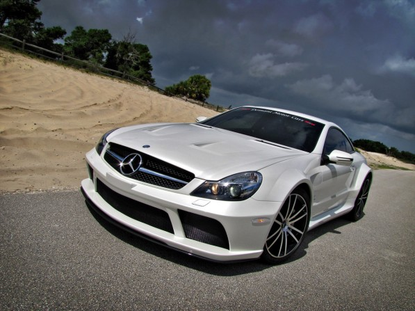 02 renntech1 597x447 The Domani Motors Renntech SL65 AMG Black Series