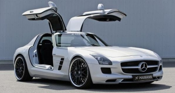 2010 mercedes benz sls amg doors up 597x318 Hamann drops SLS AMG for meaner stance and performance