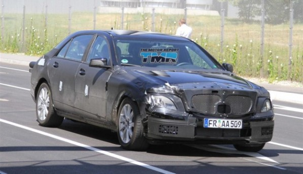2012 mercedes benz s class spy photos 04 4c3d13133d7c1 625x360 597x343  Spy Photo: Possible 2012 Hybrid Mercedes Benz S Class