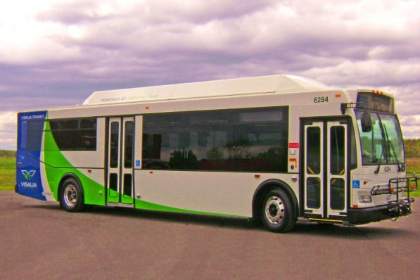 L Visalia Hi ResFULL 597x398 CNG buses a hit in Los Angeles, California