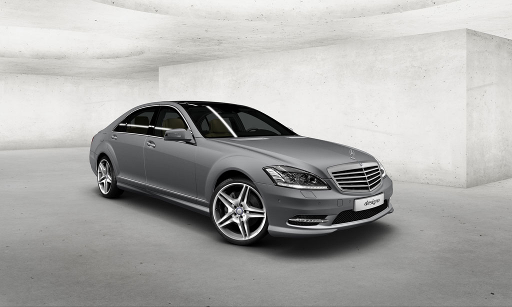 Matte Finished Mercedes-Benz S-Klasse