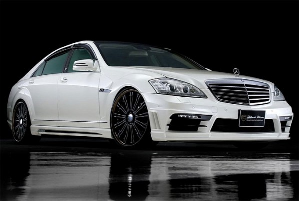 wald mercedes s klasse released medium 5 597x401 Wald International's S Class Black Bison Edition Kit