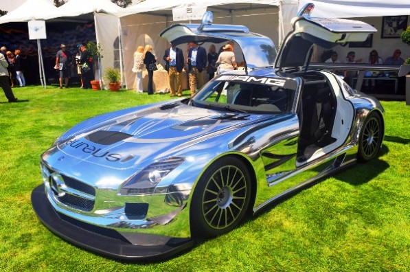 01slsamggt3quail 597x396 Too shiny for comfort: The SLS AMG GT3