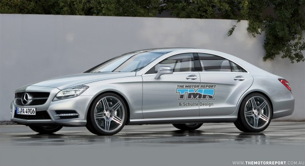 2011 mercedes benz cls rendering 03 4c3bc3f658855 1280x1024 597x326 First Generation Mercedes Benz CLS Stops Production Preceding the Brand New 2011 Model