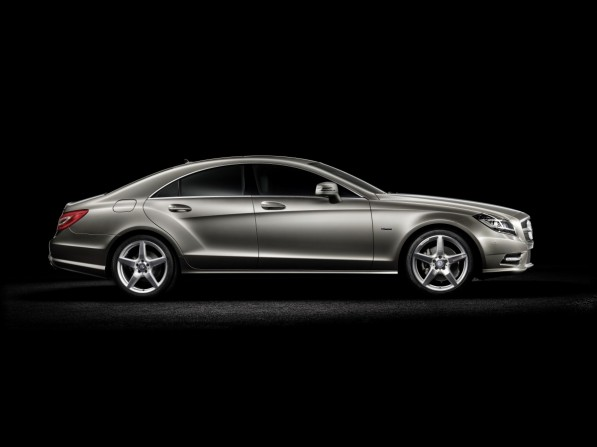2012 CLS Class 01 medium 597x447 Official: The all new 2012 Mercedes Benz CLS