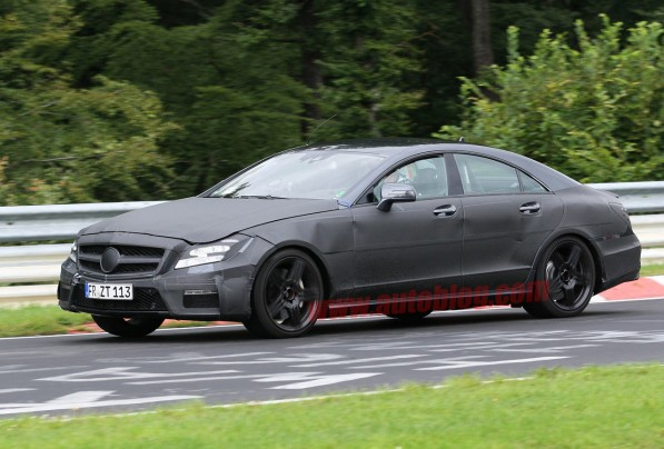 cls amg 5 597x404 Leaked! AMGs take on the next generation CLS