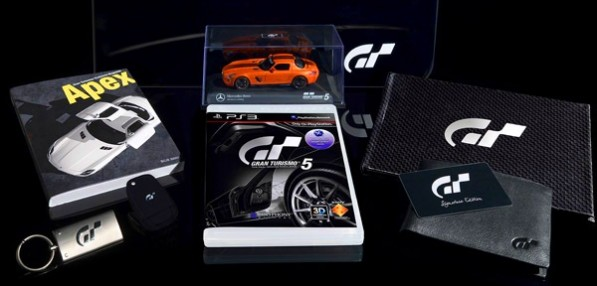 gt5 signature edition 600 597x286 Gran Turismo 5 Signature Edition gives you the chance to win an SLS AMG