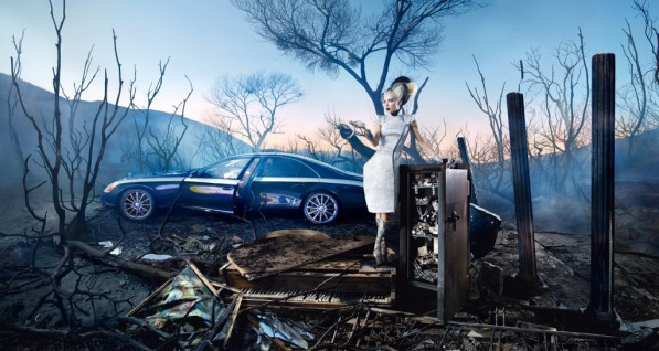 maybach backs photographer david lachapelle 23875 1 597x318 Maybach on full support for star photographer David LaChapelle