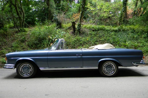 mercedes 280se 35l cabrio up for grabs 23713 1 597x397 Historics Brookland to auction rare 280SE 3.5L Cabrio