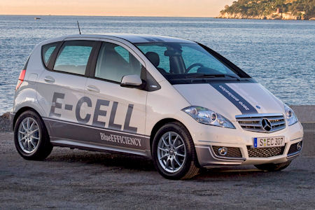 mercedes a klasse e cell coming to paris 23834 1 The A Class E Cell charges up for Paris