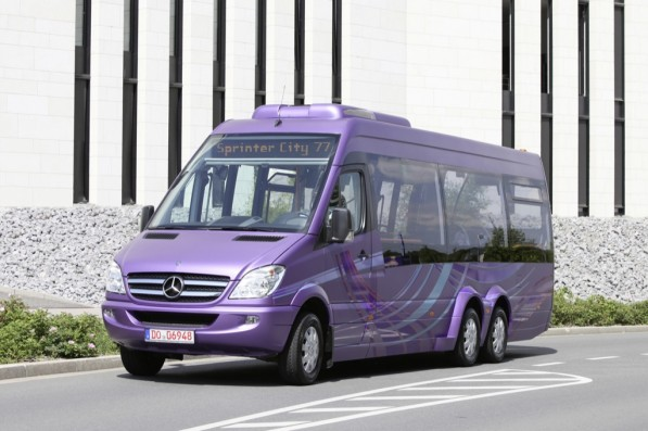 mercedes benz to premiere sprinter city 77 at the 2010 iaa 23401 1 597x397 Mercedes Benz to Showcase Sprinter City 77