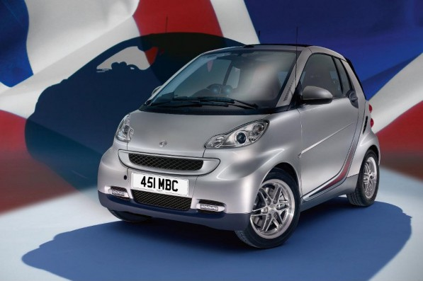 smart fortwo gb 10 edition launched 23595 1 597x397 SMART UK celebrates first decade with limited edition GB 10
