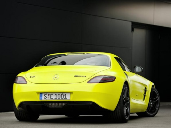 2010 Mercedes Benz SLS AMG E Cell Concept 05 597x447 Fast Forward to Tomorrow campaign kicks off