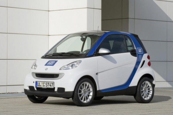 Car2Go 597x397 Daimler Launches Car2gether