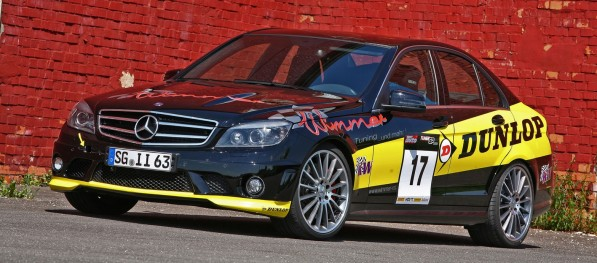 Mercedes C63 AMG Wimmer RS 111 597x263 Wimmer RS to Develop Mercedes C63 AMG Racer