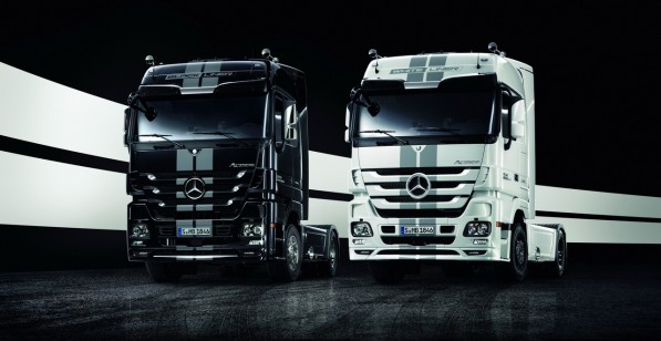 actros edition 1 597x308 Truck technology highlights to be showcased at IAA