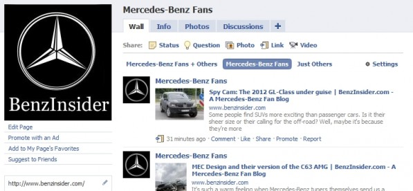 facebook benzinsider 597x276 Find us on Facebook!