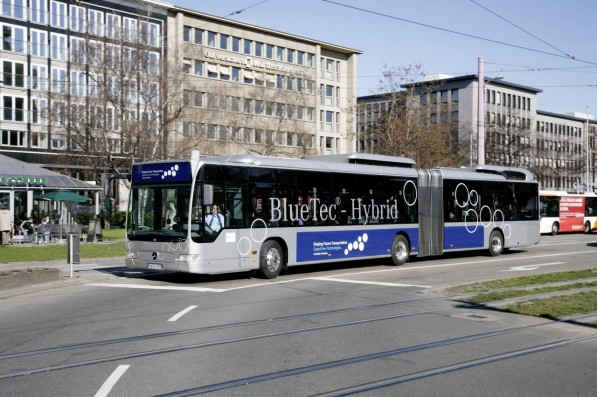 mercedes benz citaro g bluetec hybrid 597x397 Citaro hybrid buses prove their worth in Stuttgart
