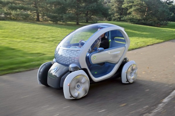 renault twizy 5 597x398 Daimler Teams Up With Renault Nissan To Produce Electric Vehicles