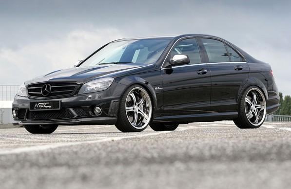 w204 c63 4 597x388 MEC Design and their version of the C63 AMG