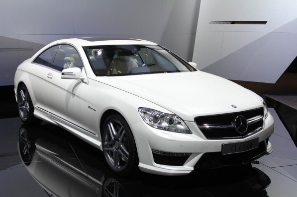 01 mercedes benz cl63 live paris1 597x397 V8 power in the new CL63 AMG