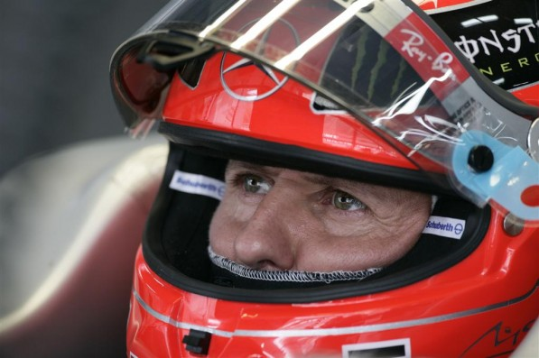 1024 481538359 319324102010 597x397 Schumi finishes fourth in first ever Korean GP