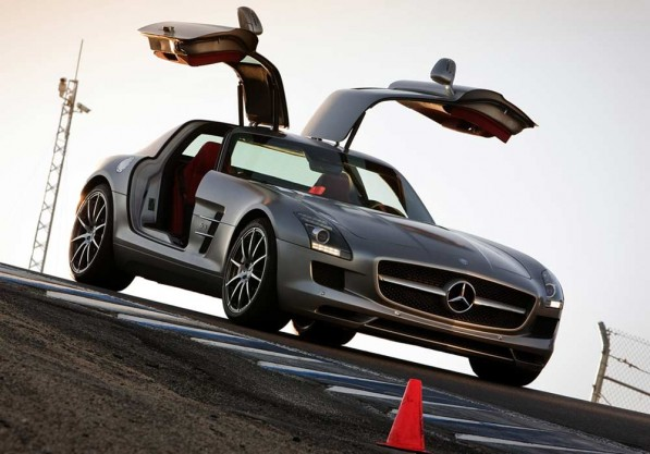 2 sls amg 211 597x417 2011 SLS AMG is Playboys Car of the Year