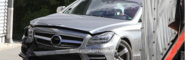 2012 mercedes benz cls first crash 100325000 m1 597x194 CLS crashes during testing